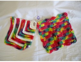 Dishcloth/Potholder Sets in a Variety of Color Choices
