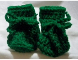 Newborn Crocheted Booties