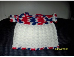 Crocheted Baby Dress