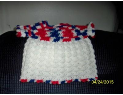 Crocheted Baby Dress