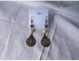 One-of-a-Kind Teardrop Earrings -- Style D