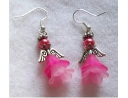 Flower Angel Earrings