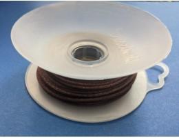 Rattail Cord, Light Chocolate