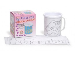 Color It Yourself Mug Kit