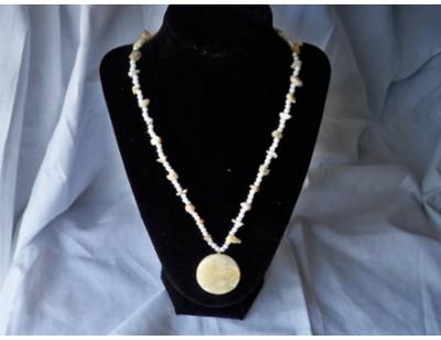 Crazy Agate necklace