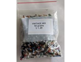 Vintage Seed Beads - 50 gram packages
