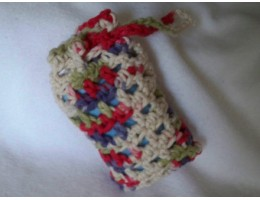 Soap Sack/Scrubber with Soap