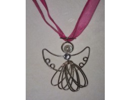 Filigree Angel necklace