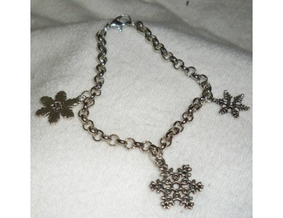 Chain Charm Bracelet - Winter Theme