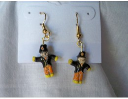 Scarecrow earrings