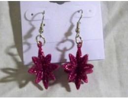 Funky Snowflake Earrings
