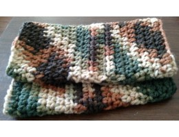 Hand-crocheted Wrist Warmers