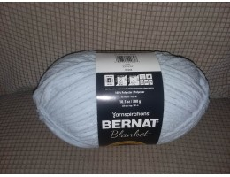 Blanket Yarn - Polyester - #6 weight (Chilled Blue)