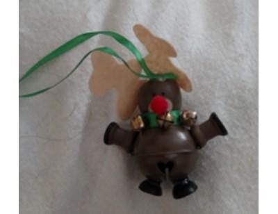 Reindeer Bell Ornament